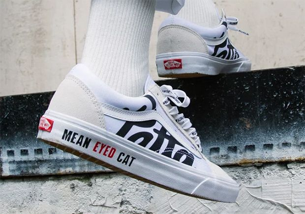 Patta teams up with Vans for the Vans Old Skool Mean Eyed Cat collaboration  slated to release May 29th f0c373853