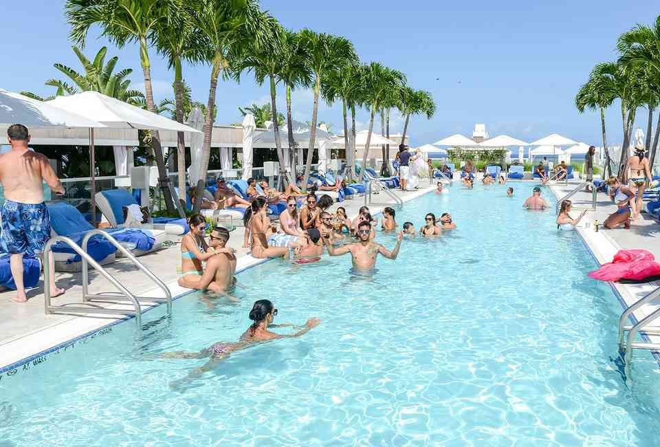 The Hottest Pool Parties In Miami This Summer Hot Pool Party Beach Bachelorette Summer Pool Party
