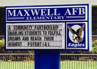 Maxwell Air Force Base - Media Gallery  Went to this school the first year it was built. 5th and 6th grade