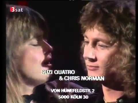 Chris Norman Amp Suzi Quatro Stumblin In Best Version Youtube All About Music Norman Songs