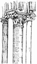 Gothic Clustered Column