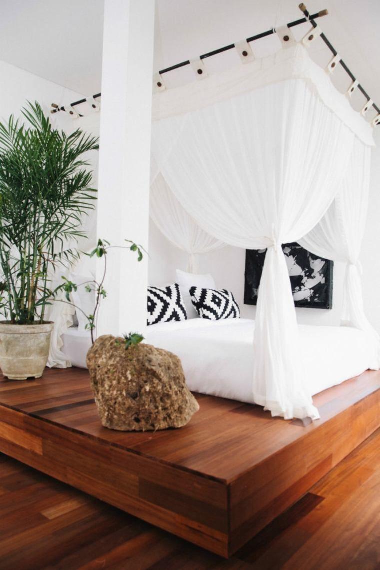 lit baldaquin moderne pour chambre d'adulte et d'enfant | décoration
