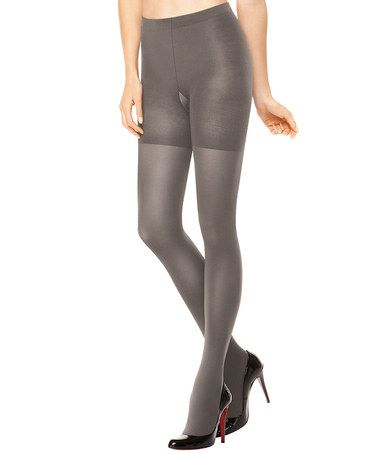 Take a look at this SPANX® Tight-End Tights - Platinum by SPANX® on #zulily today!