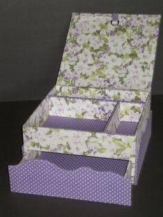 Cartonnage passion: La boîte tiroir secret