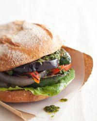 Grilled-Vegetable Sandwich Recipe on Food & Wine