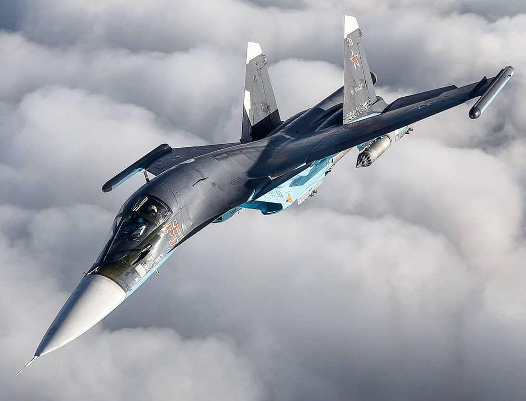 Russian Airforce Sukhoi Su34 Fullback Photo By Alexey Ereshko
