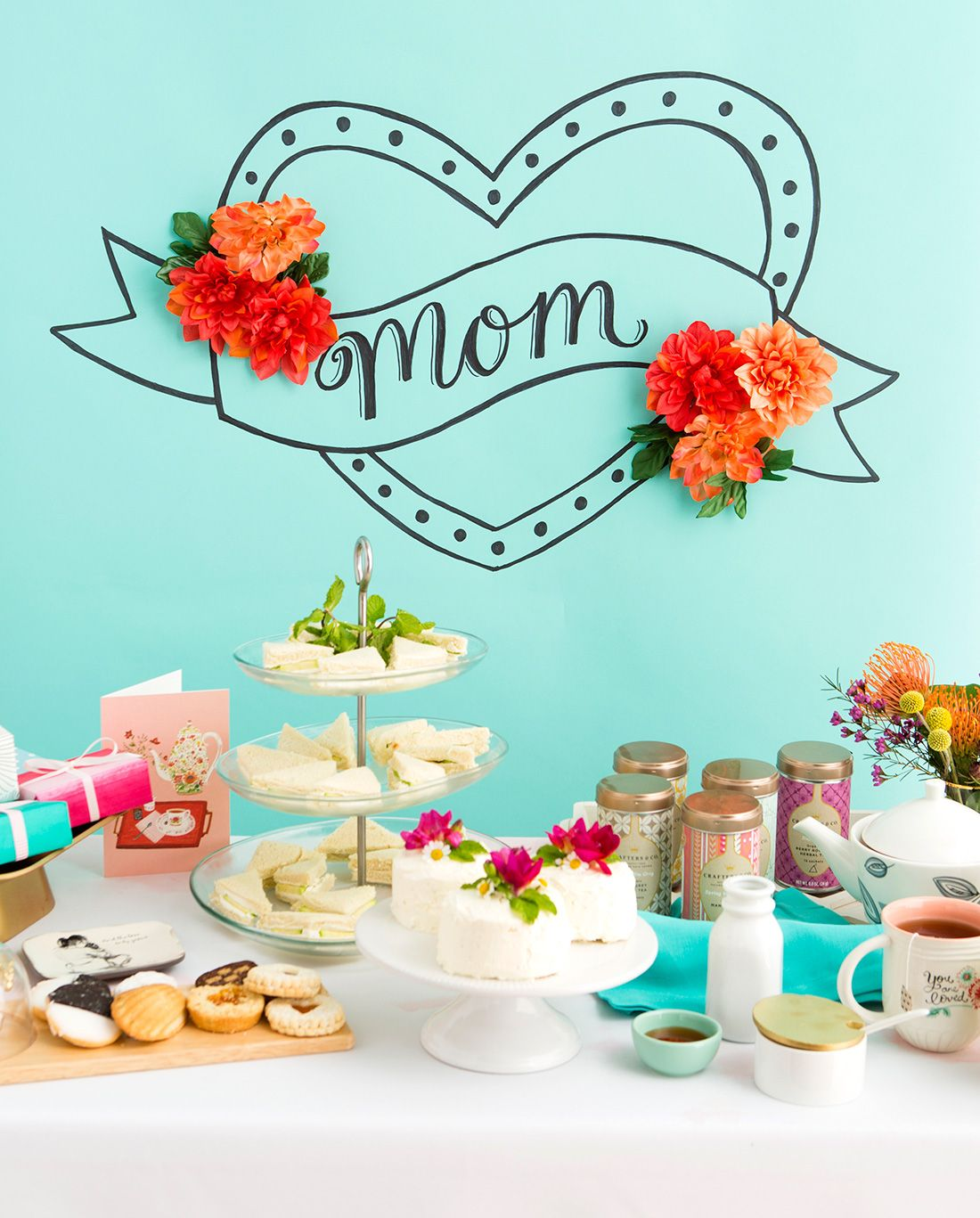Throw A Tea Party Themed Brunch For Mom This Mothers Day With Tea
