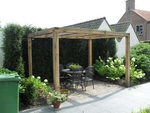 Pergola hout google zoeken tuin pinterest google and searching - Pergola hout bedekt ...