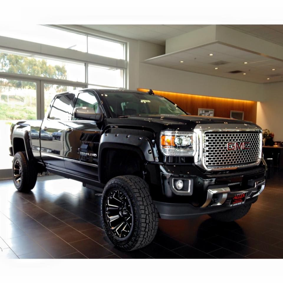 The allen autos accessories department customized this available 2016 gmc