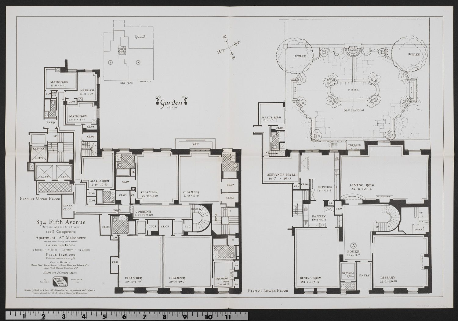 Click To Close Image Click And Drag To Move Use Arrow Keys For Next And Previous Apartment Floor Plans New York Townhouse New York Apartments