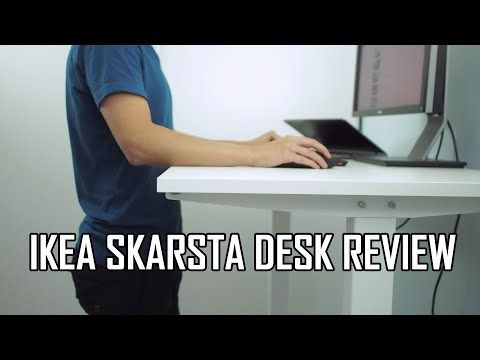 Ikea skarsta bekant alternative sit stand desk unboxing assembly