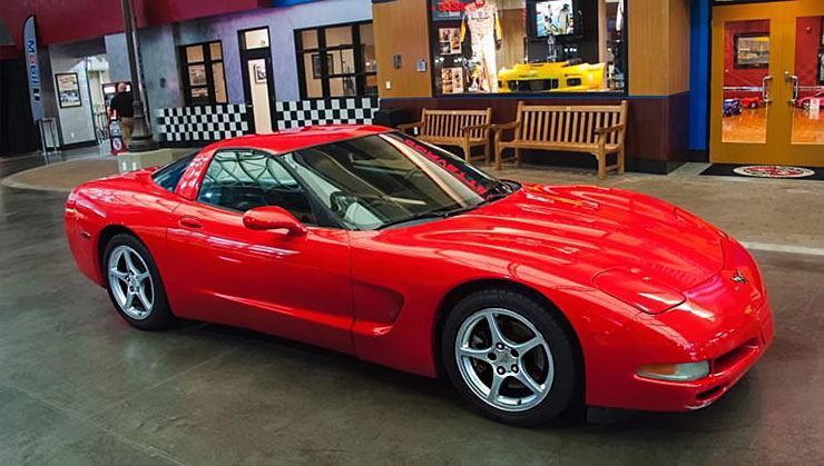 This 773 000 Mile C5 Chevrolet Corvette Was Donated To The