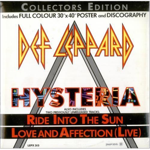 Def Leppard Hysteria Pack Uk 12 Vinyl Single 12 Inch Record Maxi Single 15979 Def Leppard Hysteria Def Leppard Vintage Vinyl Records