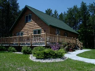 Timber Lodge 6 bedroom Log Home is located at Springbrook