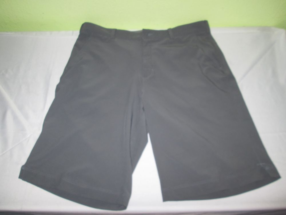 6cb2f5923dc37 Men's NIKE DRI FIT TOUR PERFORMANCE Flat Front Golf Shorts Sz 36 - Gray # Nike
