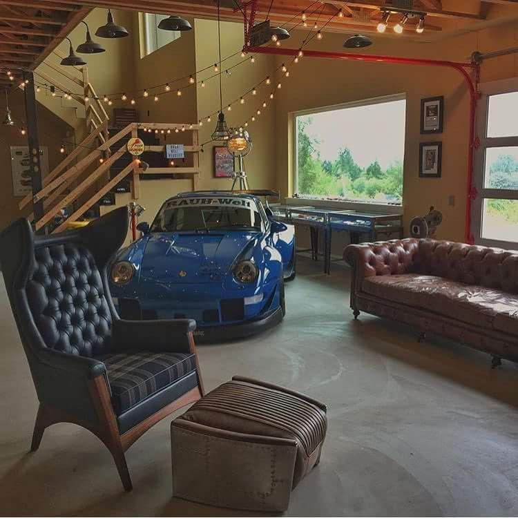 Cool Garage Ideas 16: ガレージショップ