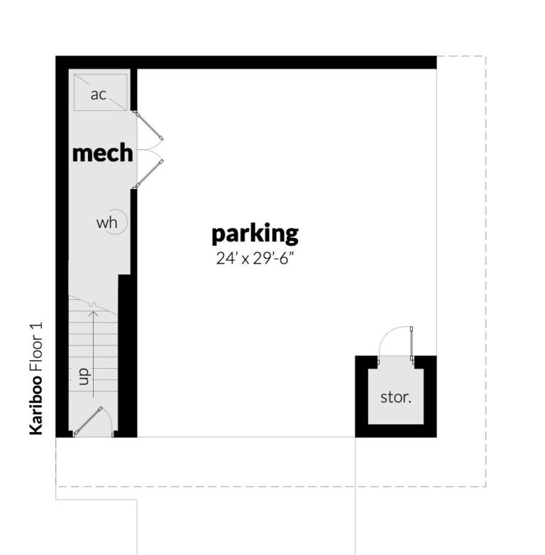 Kariboo House Plan House Plans In 2019 House Plans Garage