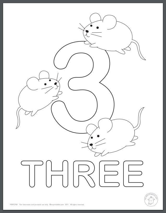 Believe It Or Not Coloring Pages Can Be Educational With These Learning Numbers Coloring Pages For K Numbers Kindergarten Numbers Preschool Printable Numbers