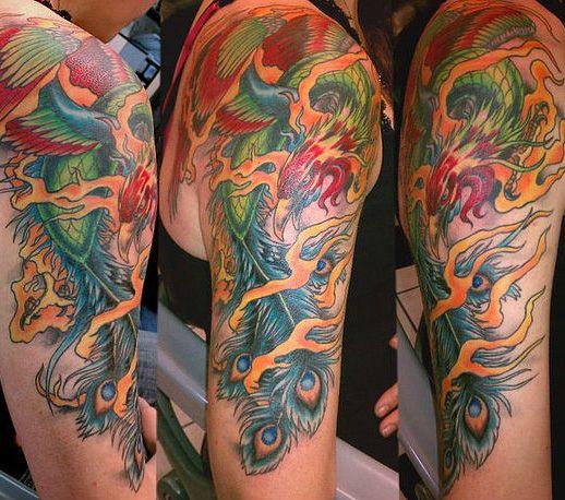 Phoenix Tattoos With 5 Astonishing Tattoo Designs Bernie Tatts
