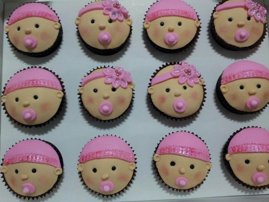 Baby shower cupcake ideas girl cupcakes i love pinterest baby shower cupcakes babies and - Girl baby shower cupcake ideas ...