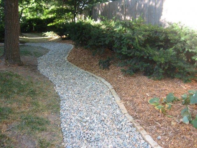 Rock Pathways rock pathways river rock pathway with maple hill stone edging land