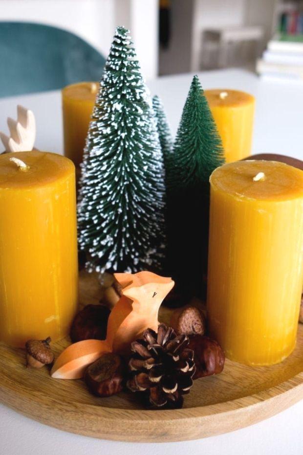 DIY Angebote Annex Kokaridas Bilder speichern Anne Kokaridas DIY Adventskranz mit Osthei …, #Advent …