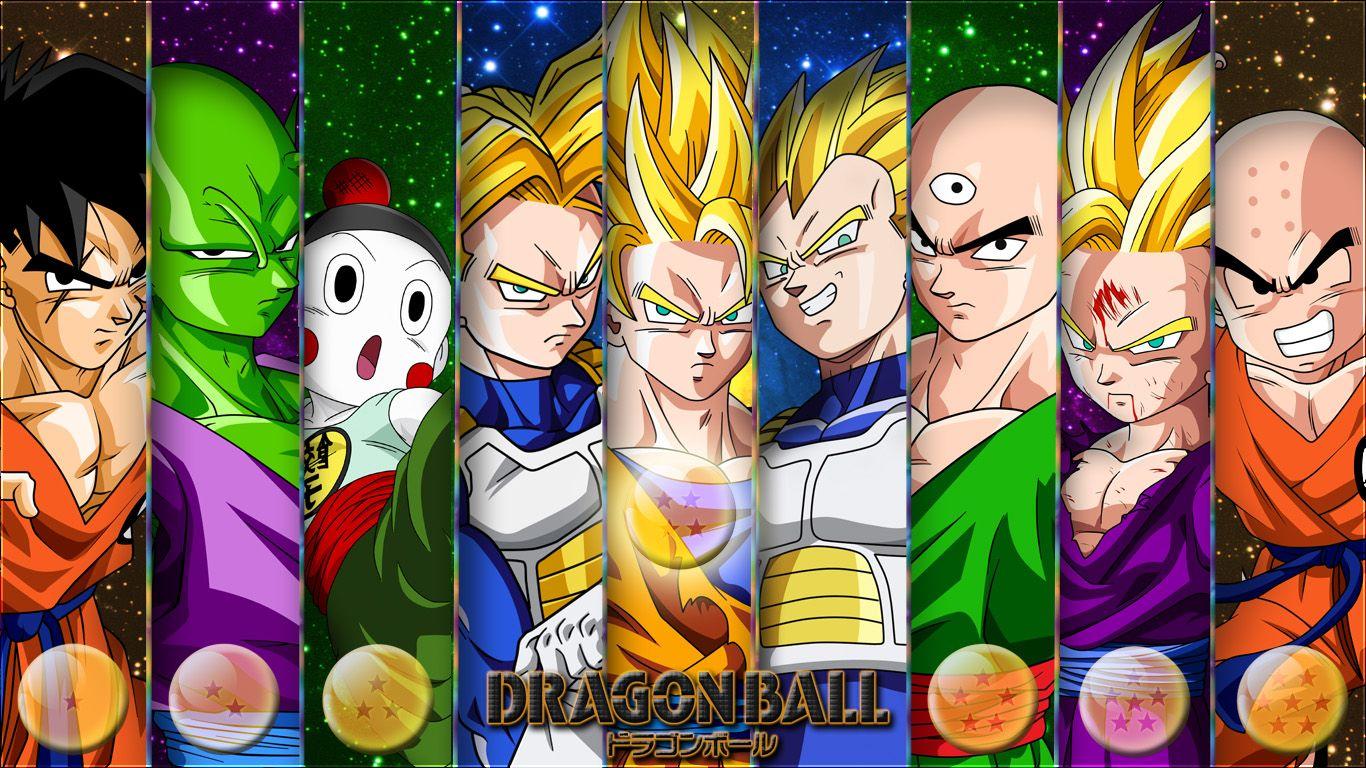 Dragon Ball Z Anime Characters : Dragon ball z characters yamcha piccolo chiazou trunks