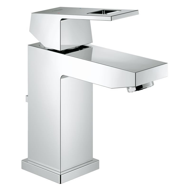 Genial Grohe 23 129 A Eurocube 1.2 GPM Single Hole Bathroom Faucet With SilkMove  And Qu Starlight