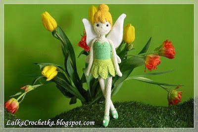 Lalka Crochetka: Spring Fairy ... Wiosenna Wróżka