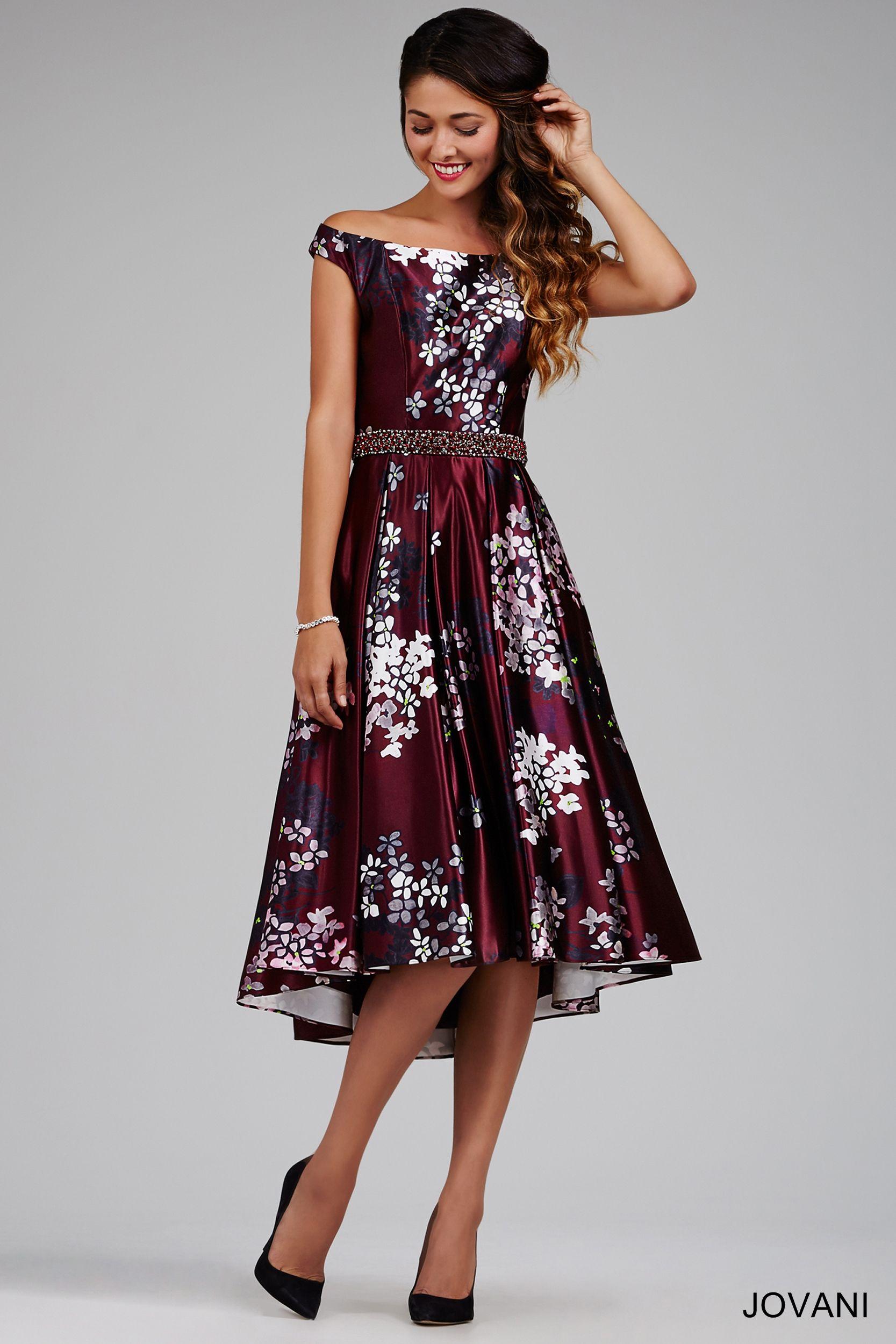 Wine off the shoulder dress short cocktail dresses
