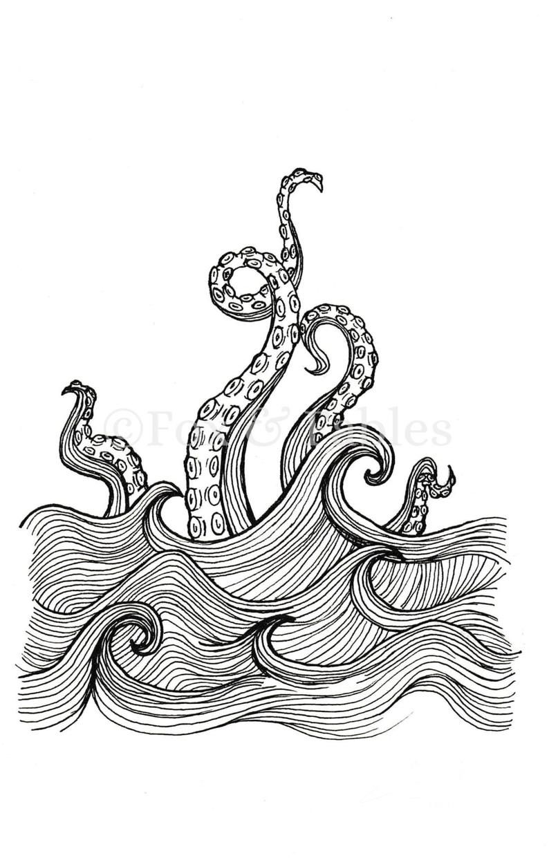 Pin On Sea Monsters
