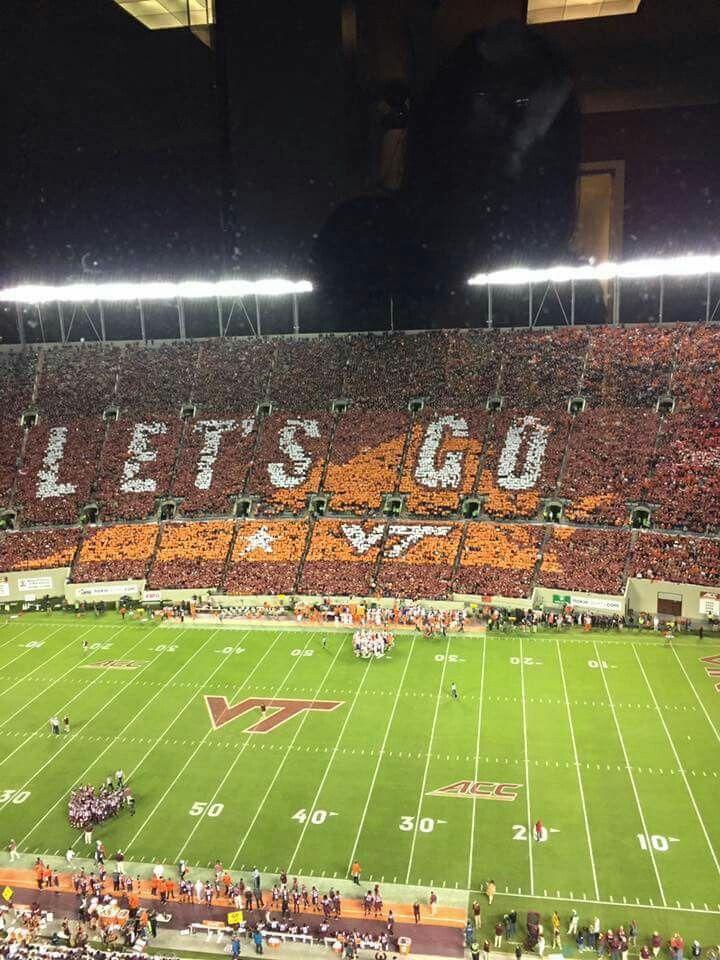 Lets go! VT vs Clemson Virginia tech football