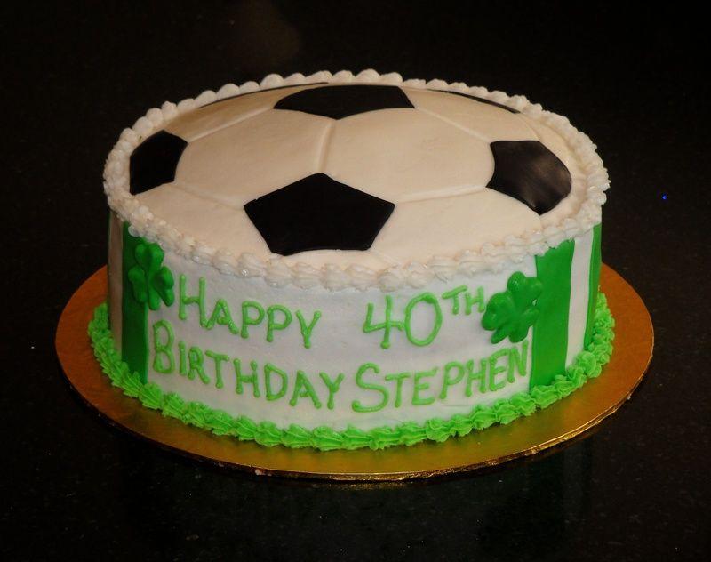 Soccer Themed Cakes