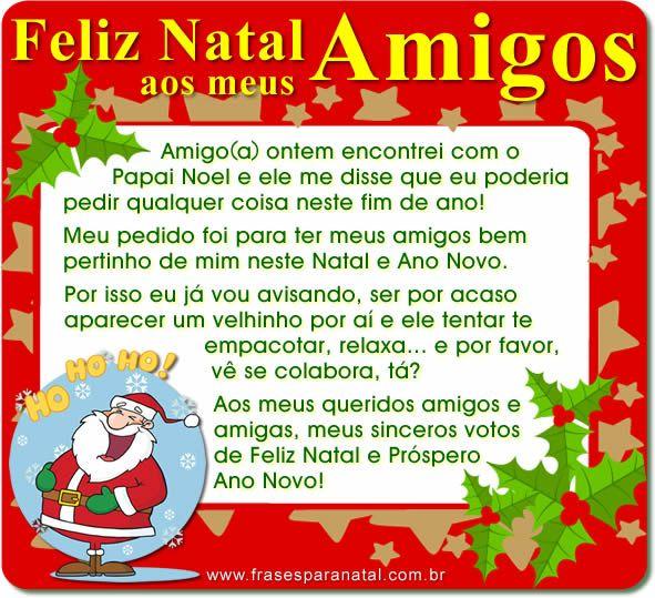 Mensagem De Natal Para Amigos Mensagem De Natal Mensagens