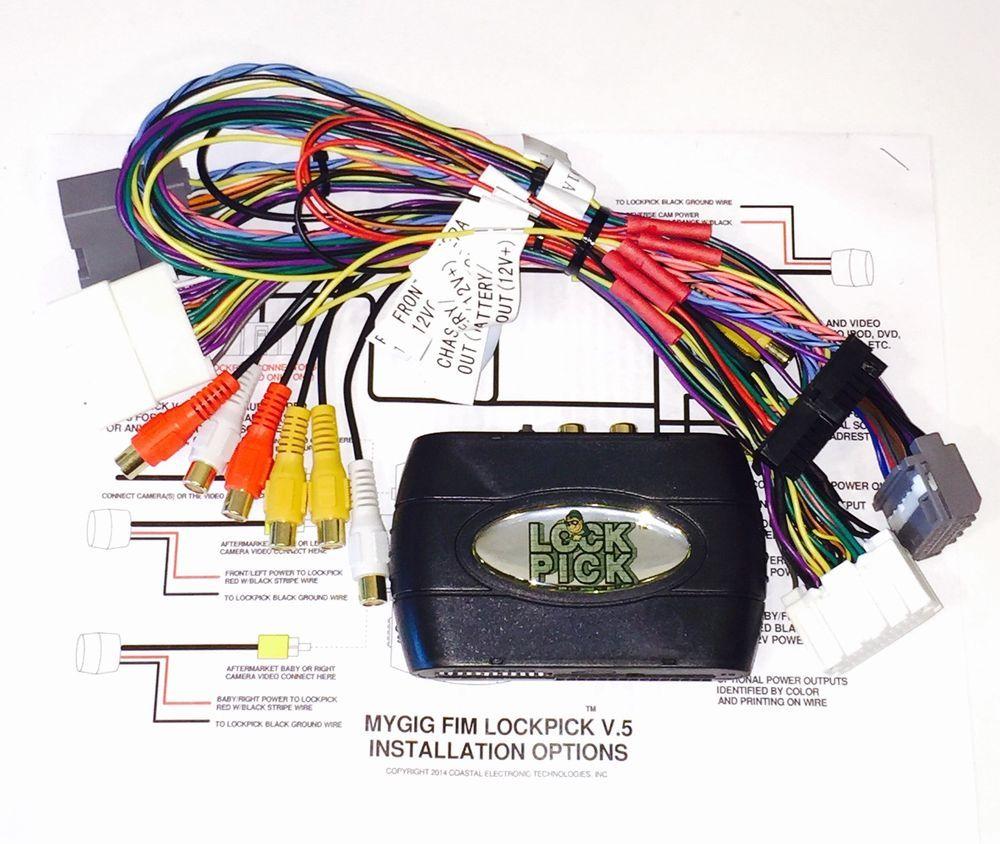 $259 00- MyGig Radio Unlock/Unblock/Camera/Video input Adapter