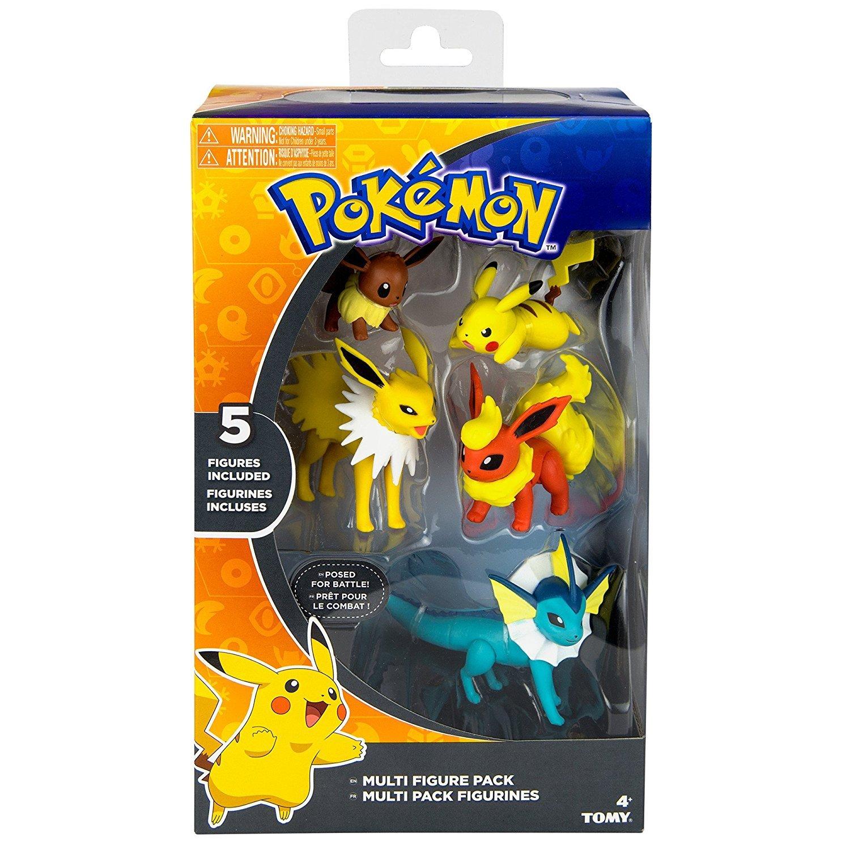 Brand New Jolteon /& Vaporeon Pokemon Battle Pose 3 Figure Pack Flareon
