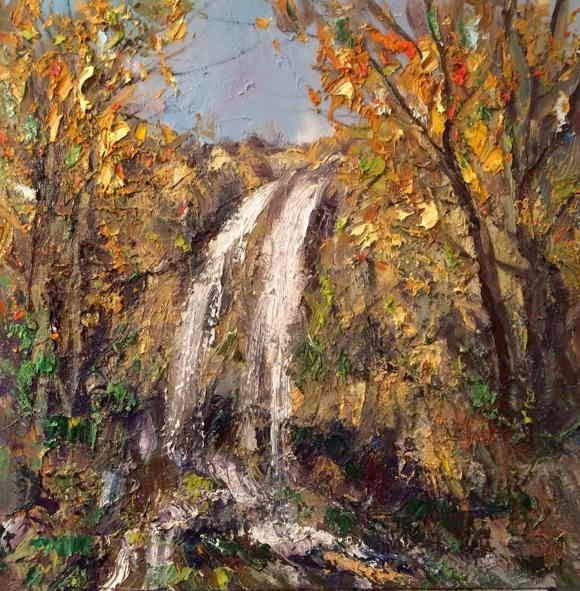 lukisan pemandangan georgi petrov artwork