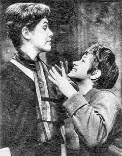 Lynn Redgrave's debut as Helena, in Midsummer Night's Dream, with her brother Corin & Rita Tushingham.