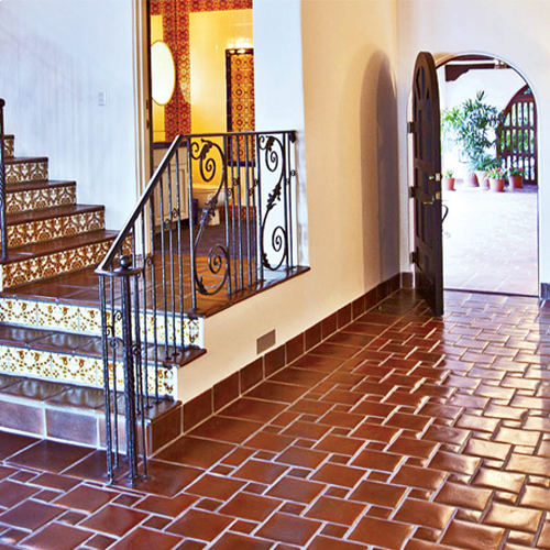 Spanish Tile Floors Stairtread Natural Clay Tile Spanish