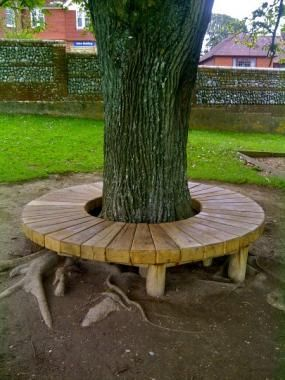 Our Radial Tree Seats Are Beautifully Designed To Compliment Their