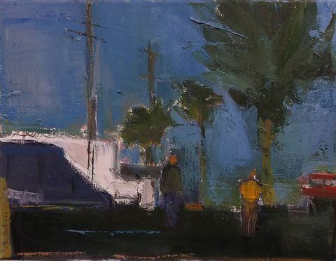 Stephen Dinsmore, North Side with Figures
