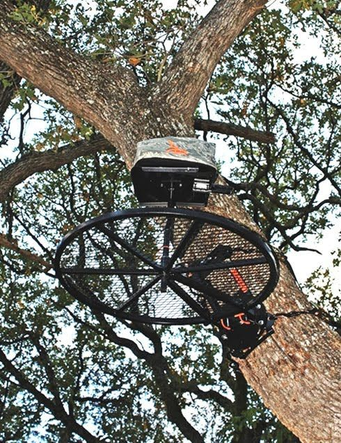 Gear Review Johnson 360 Treestand Bowhunting Net Deer