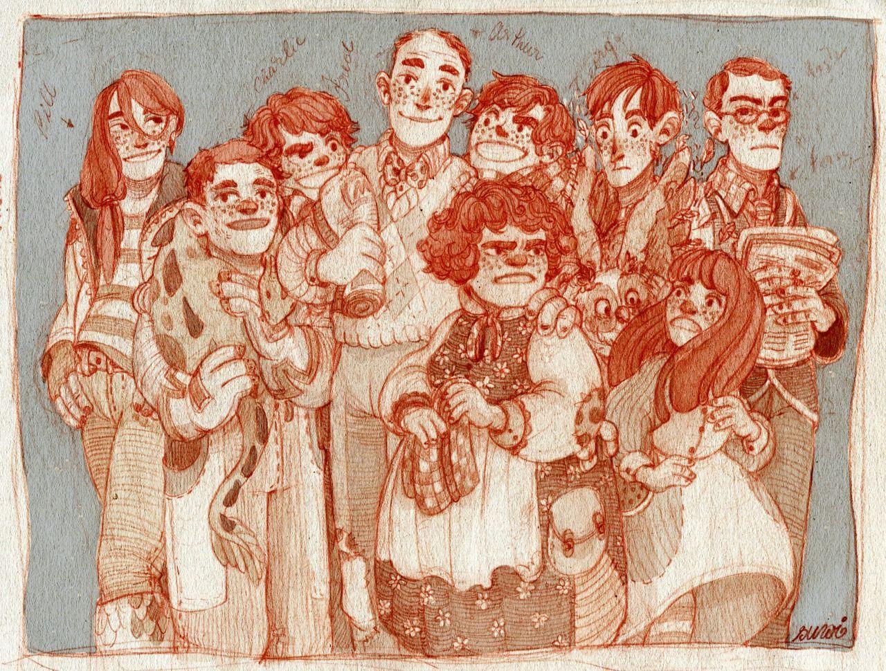 suwi — The Weasleys