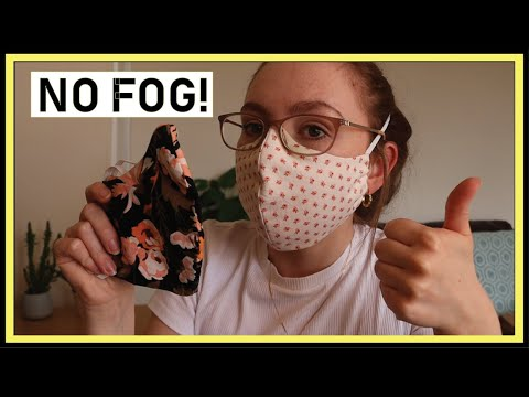 Photo of Make cotton Face Mask tutorial without glasses fogging | Hand sewing best fit pattern