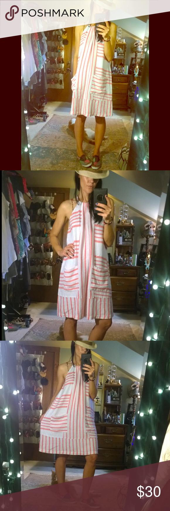 Nwot old navy linen blend sundress in my posh picks