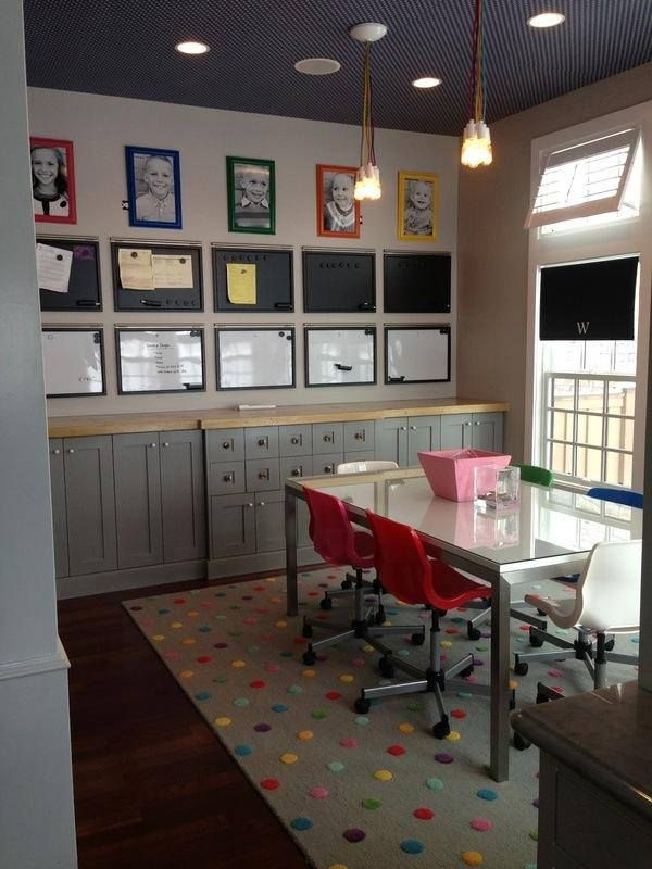 Homework Room Design Ideas Part - 43: Homework Room Sun Room Off The Kitchen Will Be A Homework/backpacks/papers/computer/family  Projects Room. Even Without Homeschooling, We Need A Whole Room ...