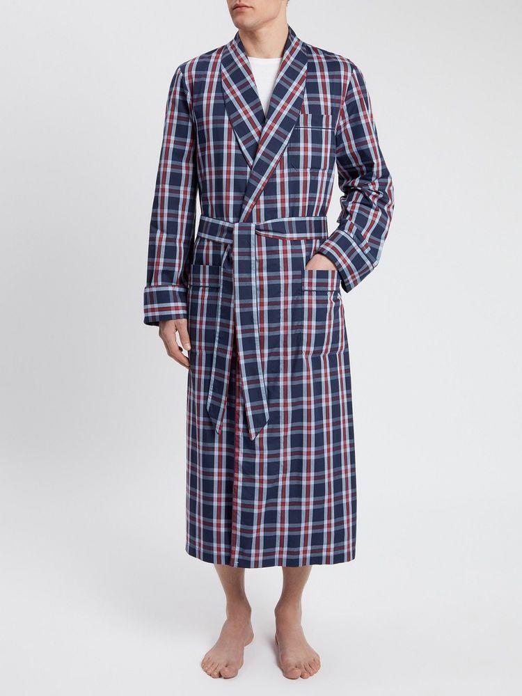 Mens Derek Rose Barker 10 Dressing Gown Robe M Medium RRP£250 ... 7d5df6632