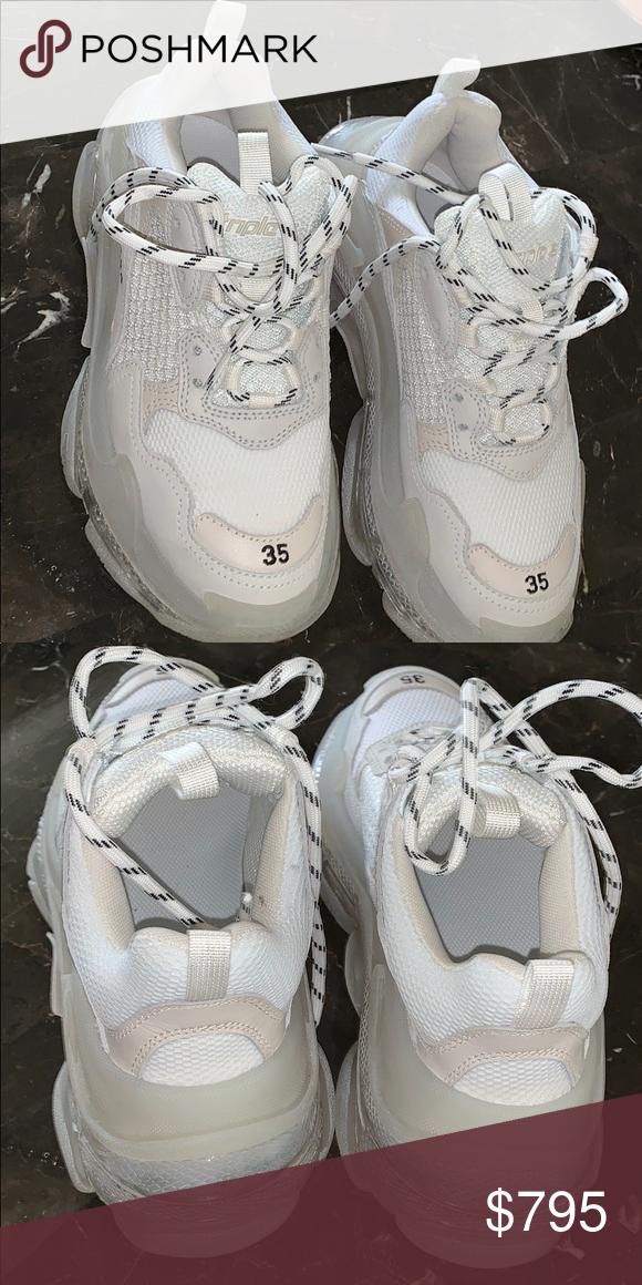 Balenciaga Triple S size 35 only worn