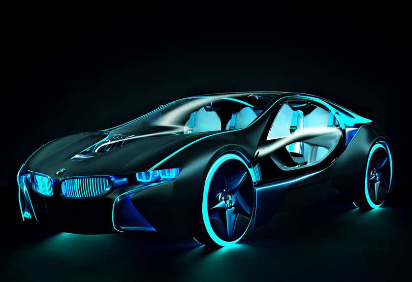 Bmw I8 Which Looks Like A Bright And Shiny Light In The Dark And We