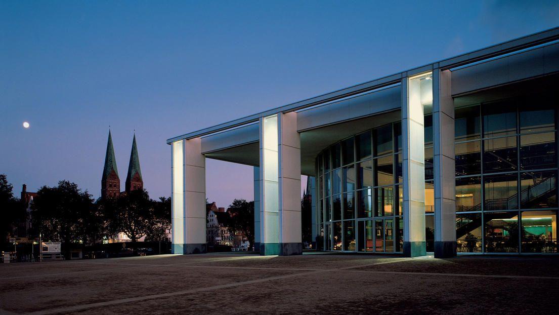 Deutschland, Lübeck  Musik- und Kongresshalle